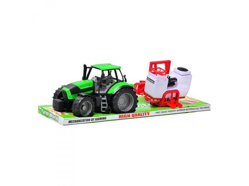Трактор инерционный, с прицепом, 2588 B