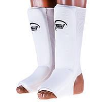 Защита ноги трикотаж белая Twins (c сеткой)