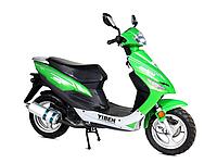 Скутер Yiben YB50QT-3K Зеленый, фото 1