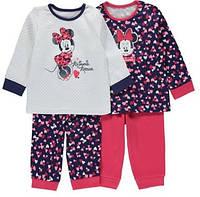 Пижамы для девочки George на 12-18 мес.