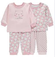Пижамы для девочки George на 18-24 мес.