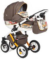 Детская коляска универсальная 2 в 1 Adamex Barletta World Collection New York (Адамекс Барлетта)