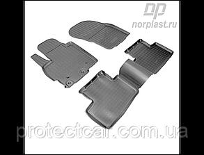 Ковры салонные для Mitsubishi ASX (c 2010) черные