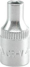 """YATO Головка торцева 6-гран., з квадр. 1/4"""", М=4 мм, L=25 мм"""