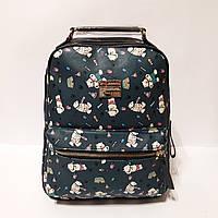 Рюкзак женский городской с мишками