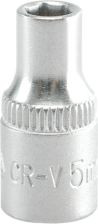 """YATO Головка торцева 6-гран., з квадр. 1/4"""", М=5 мм, L=25 мм"""