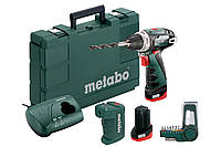 Аккумуляторная дрель-шуруповерт Metabo PowerMaxx BS Basic + PA + BitBox 9 шт, 600080910