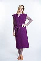 Платье вязаное шелковица