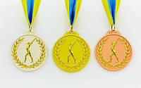 Медаль спортивная.Гимнастика. Медаль спортивна
