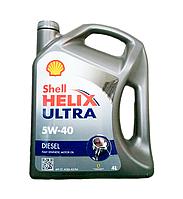 Масло моторное SHELL Helix Ultra Diesel 5W-40, 4л