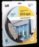 Лента светодиодная LED 5м блистер LSR-3528W120-9.6-IP20-12V IEK-eco