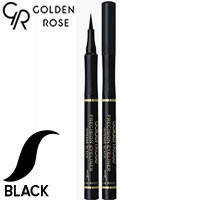 Golden Rose - Подводка-фломастер для глаз Precision Eyeliner Тон intense black, черный