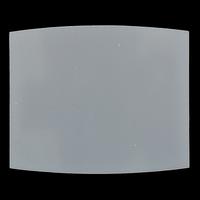 Стекло поликарбонат 90/110 полукруглое (слюда) ZS-0017
