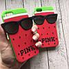 Силиконовый чехол Pink арбуз для iphone 5/5s/SE, фото 3