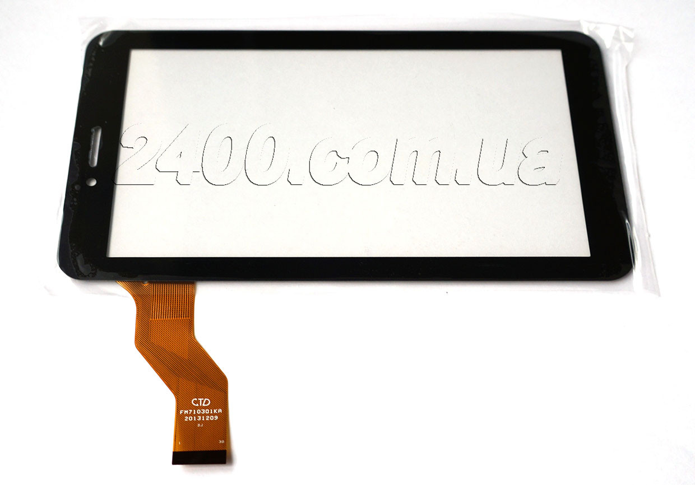 Тачскрин, сенсор планшета Digma Plane TT702M 3G 186*105 мм 30 pin