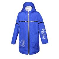 Куртка демисезонная, ветровка для девочки Парижанка электрик Код товара: электрик