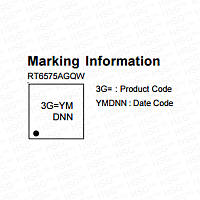 RT6575A (3G= ) (WQFN-20L 3x3)