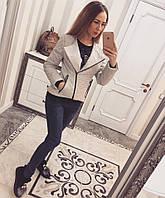 Женская куртка-косуха, фото 1