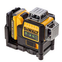 Лазер самовыравнивающийся 3-х плоскостной DeWALT DCE089D1G (США)