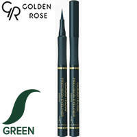 Golden Rose - Подводка-фломастер для глаз Precision Eyeliner Тон зеленый