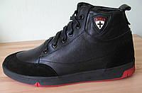 Мужские зимние ботинки сапоги натуральная кожа мех.Стиль Diesel 2016