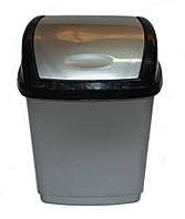 "Ведро п/п для мусора ""Домик"", 1,7 л. ""Горизонт"""