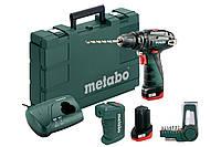 Аккумуляторная ударная дрель Metabo PowerMaxx SB Basic + PA + BitBox 9 шт, 600385910