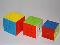 "Набор цветных кубиков Рубика ""2+3+4"" от QiYi (кубик-рубика MoFangGe)"