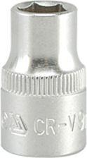 """YATO Головка торцева 6-гран., з квадр. 3/8"""", М=9 мм, L=28 мм"""