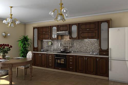 Кухня «Платинум»