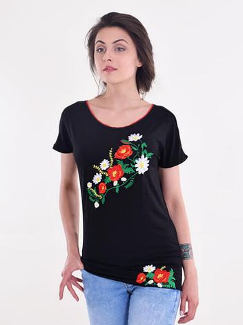 """Жіноча туніка """"Весняний цвіт"""", фото 2"""
