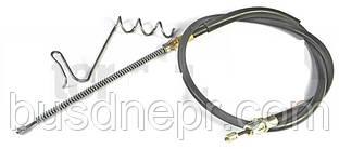 Трос ручного гальма правий (1260mm/967mm) FORD TRANSIT 2.0 D/2.3/2.4 D 01.00-05.06 пр-во ADRIAUTO AD13.210.1