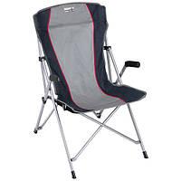 Практичный кемпинговый стул High Peak Altea (Gray/Dark gray) 923027