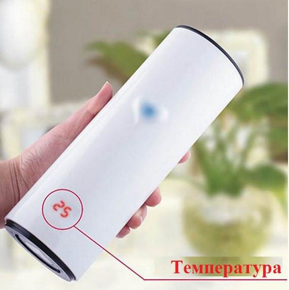Умная термокружка с сенсорным индикатором 'Сердце'