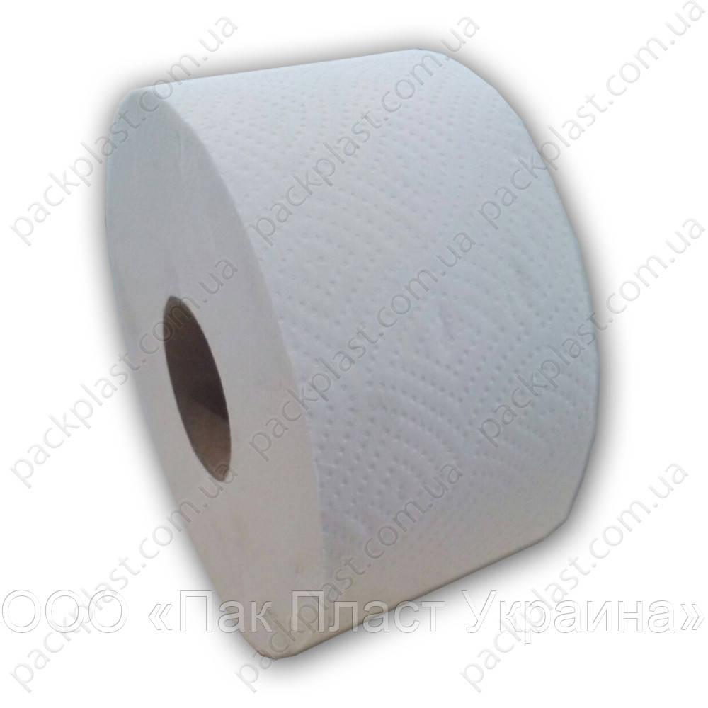 Бумага туалетная Джамбо 90 м, Белый (Львов)