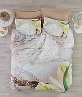 Постельное белье Cotton box Ранфорс Floral Seri 3D Paola Bej