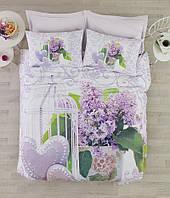 Постельное белье Cotton box Ранфорс Floral Seri 3D Lily Lila