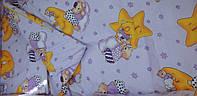 Детская постель в кроватку новорожденного