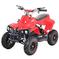 Детский железный квадроцикл Profi HB-6 EATV800C-3, 4 фары, красный