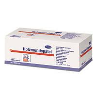 Деревянные шпатели  ( нестерильные) Hartmann. 100 штук в упаковке