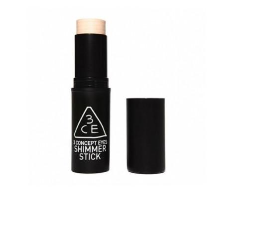 3CE Shimmer Stick – люминайзер для лица - розовый