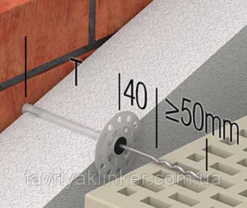 Гибкая связь-анкер PU Welle 10SK 4 mm
