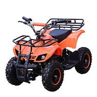 Детский железный квадроцикл Profi HB-EATV 800N-7, оранжевый