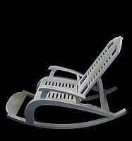 """Художественная резьба по дереву """"Кресло качалка"""" из натурального дерева, ручная робота"""
