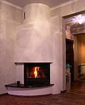 Камин в hi-tech стиле, завораживаяет плавностью форм и добавит стиля и уюта интерьеру Вашего дома.