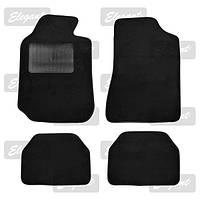 Коврики черные Elegant Plus 215010 текстиль A педаль газа с пола