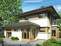 проект двухэтажного дома HD47