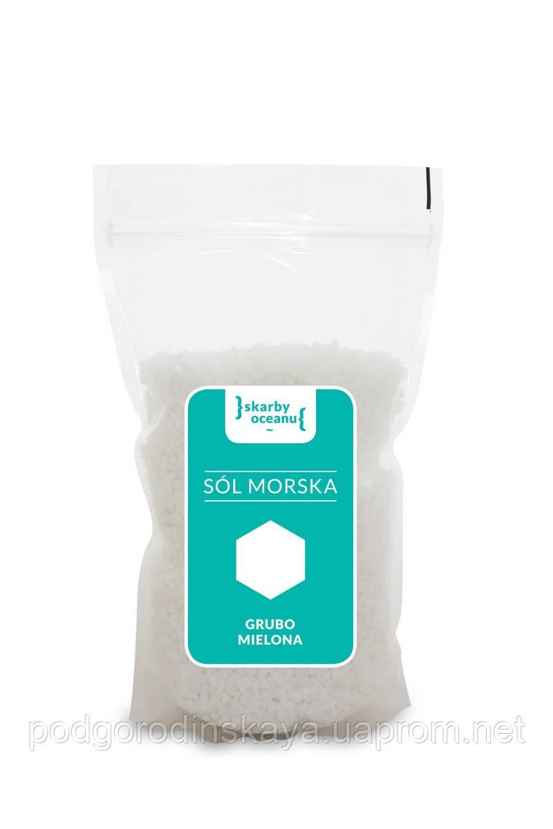 Соль морская, средняя, Skarby Oceanu, 1 кг