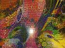 Бифлекс абстракция с золотой голографией, фото 2