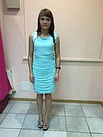 Платье женское вечернее коктельное мятное, короткое р.XS Rinascimento